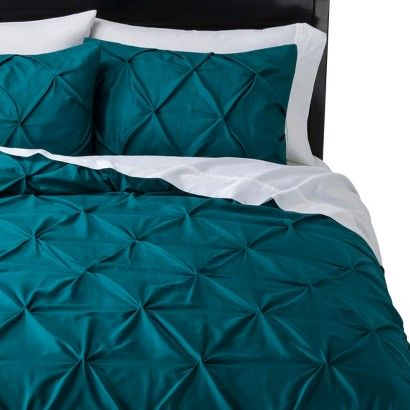 Threshold™ Pinched Pleat Comforter Set - Teal