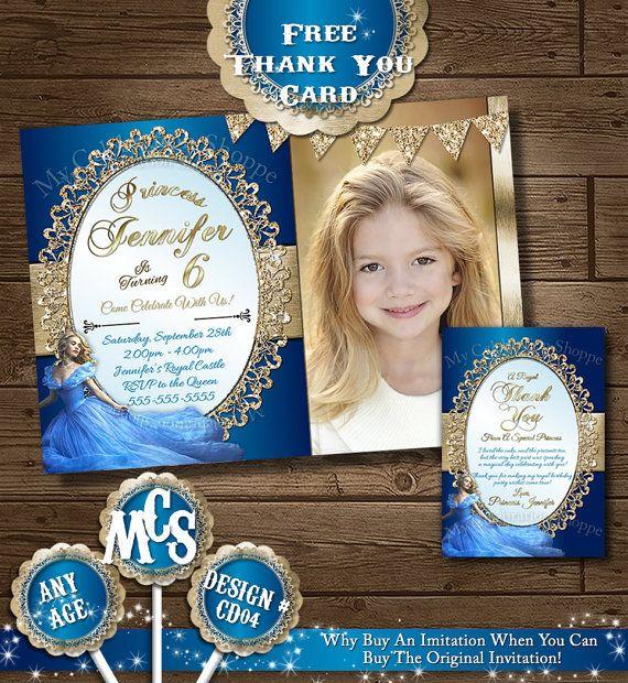 CINDERELLA INVITATIONS, Princess, Invitation, Cinderella Invitations, 2015, Cinderella, Cinderella Invitation , Invitation, Cinderella Party