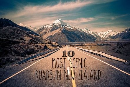 New Zealand is one of the best countries for a road trip in your car. This is my selection of the best roads on New Zealand's south island.