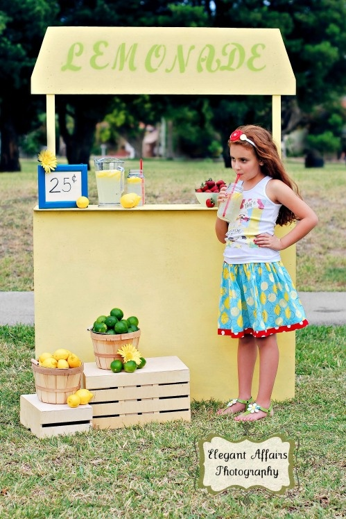 how to make the perfect lemonade stand