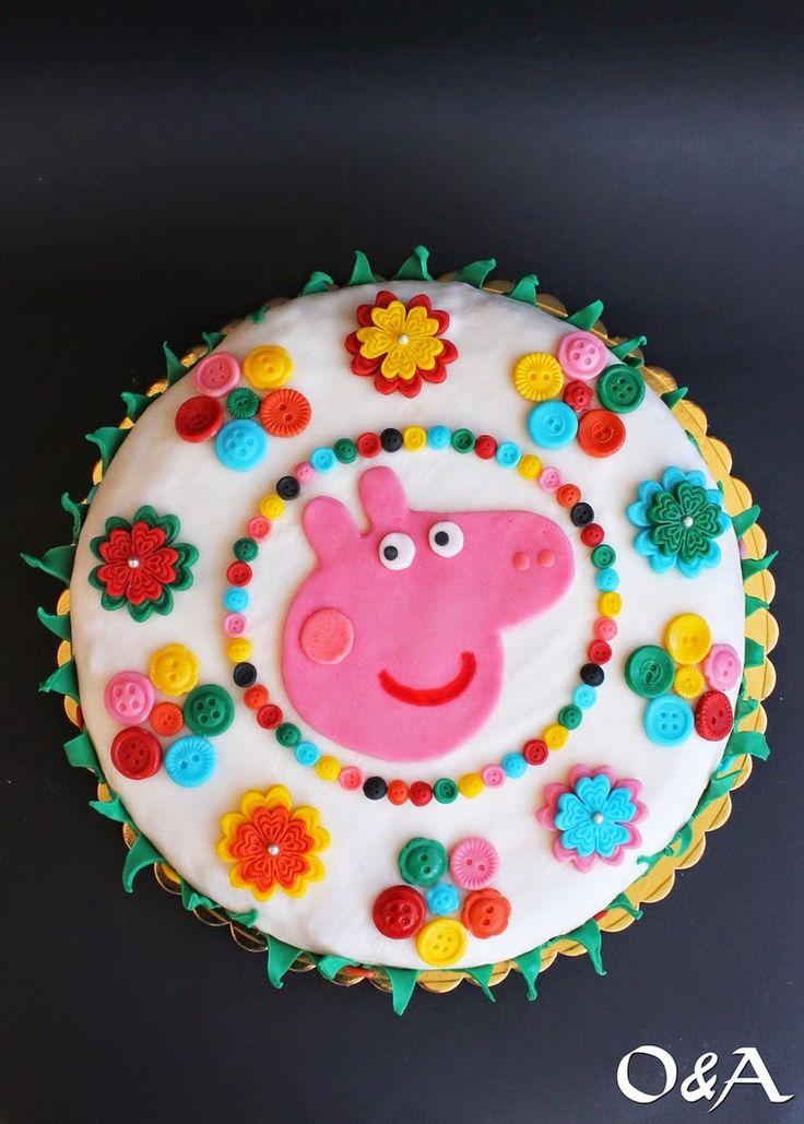 Olio e Aceto: Torta Peppa Pig