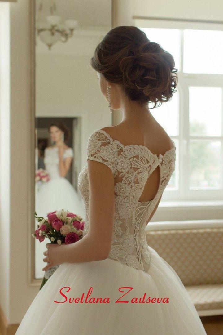 Свадебные платья 17-243 / Каталог свадебных платьев - купить свадебные платья в свадебном салоне Светланы Зайцевой / Коллекции