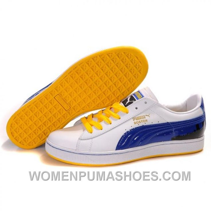 http://www.womenpumashoes.com/puma-suede-fat-lace-in-whiteblueyellow-discount-d2hgr.html PUMA SUEDE FAT LACE IN WHITE-BLUE-YELLOW DISCOUNT D2HGR Only $73.00 , Free Shipping!