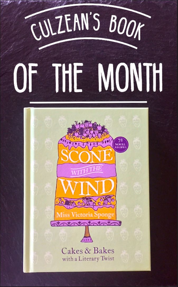 """""""We're more than halfway through September, and what better way is there to celebrate than with a fabulous new book? Culzean's #BookOfTheMonth is 'Scone with the Wind: Cakes and Bakes with a Literary Twist' by Miss Victoria Sponge. Featuring seventy-five delicious literary inspired recipes arranged by genre, you'll be a star baker in no time! Available at The Home Farm Gift Shop and Castle Gift Shop. Mmmm! """""""
