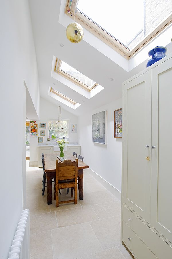 Stockwell in Stockwell, Greater London, Side Extension, Kitchen Extension, Victorian Terraced House, Bi-Fold Doors, Kitchen, Rear Extension, Roof-lights, Glass Roof, Kitchen, Pitched Roof, Side Return Ideas, Kitchen Extension Ideas