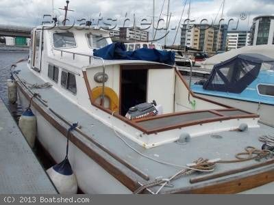 Ex Customs Launch Cruising Houseboat; lovely boat, ideal for one person or close couple