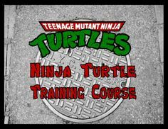 Sign train to be a Ninja Turtle with this fun obstacle course party activity!