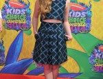 Willow Shields in Timo Weiland at Kids' Choice Awards Orange Carpet Photos