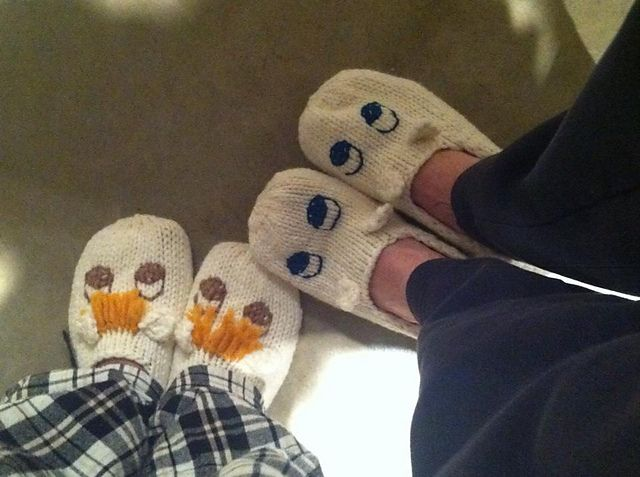 Ravelry: sakaip's Moomin slippers