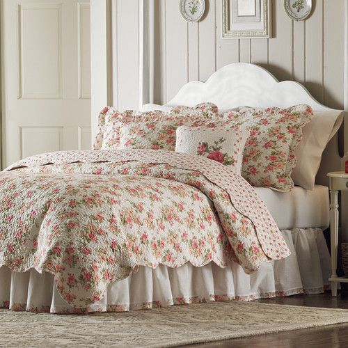 Found it at Wayfair - Sweet Roses Quilt Collection
