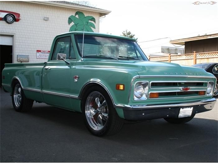 68 dodge truck