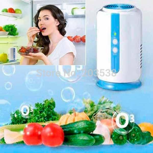 Home Health fridge Fruit Vegetables food shoe wardrobe car O3 Ionizer disinfect Ozone generator Sterilizer Fresh Air Purifier #Affiliate