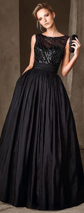 #Stunning #Black #Dress #Gown #Prom #PartyDress #EveningWear #Clothes