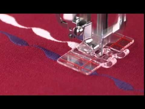 LOJA SINGER PORTO: Acessórios de Costura - Calcador Guia para Bordados/Patchwork