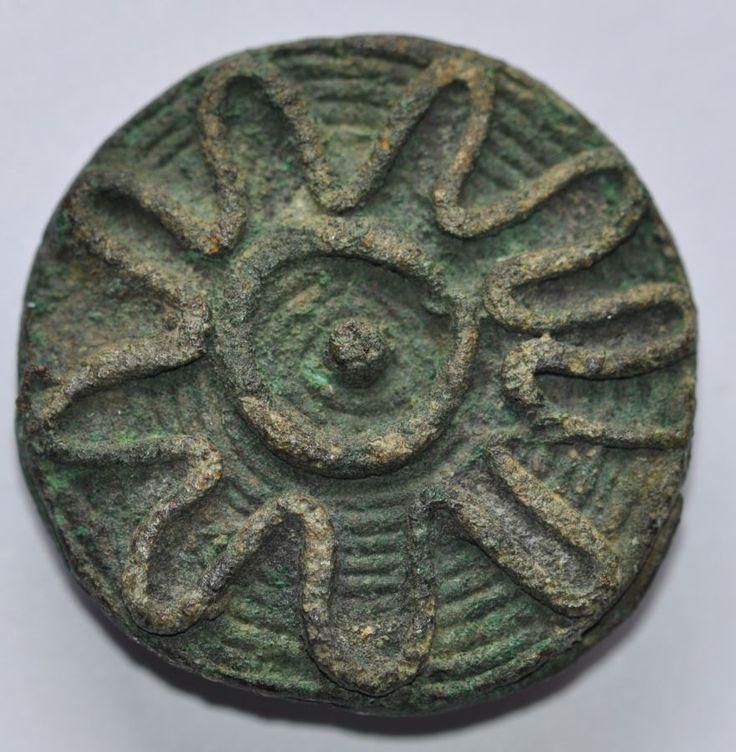 Amlash bronze ring 18, 1st millenium B.C. Private collection