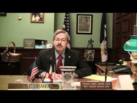 Gov. Terry Branstad wishes our troops a Merry Christmas, Happy New Year, and safe return home. This aired on the American Forces Network.