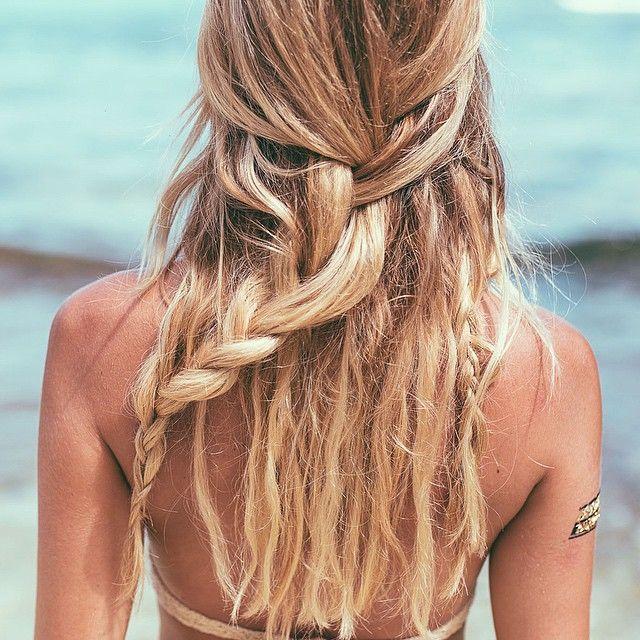Beachy braid                                                                                                                                                                                 More