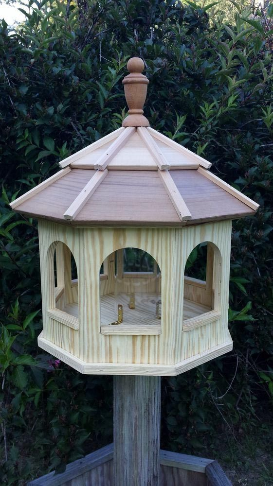 25 best ideas about large bird feeders on pinterest for How to make a wooden bird feeder