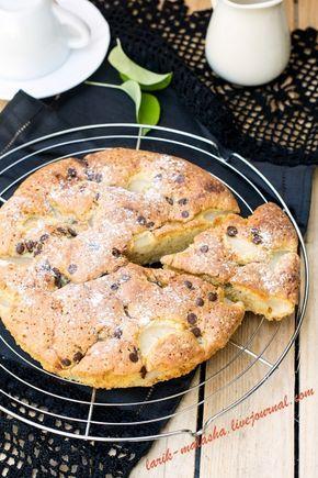 Пирог с грушами и шоколадом: larik_malasha