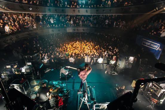 In photos - Enter Shikari launch their new album 'The Mindsweep' with a frenzied Kingston show http://nmem.ag/HyBVw