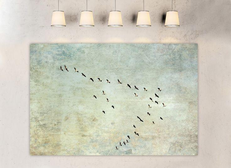 "Farbe - ""The long journey 2"" Leinwand 90 x 60 cm - ein Designerstück von BlickFangFotografie bei DaWanda"