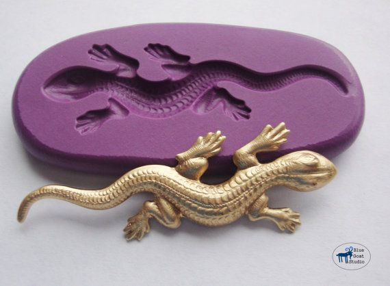 7 best images about gecko party on pinterest salamanders treat lizard gecko salamander moldmould silicone molds polymer clay resin fondant cake decorating mold pronofoot35fo Choice Image