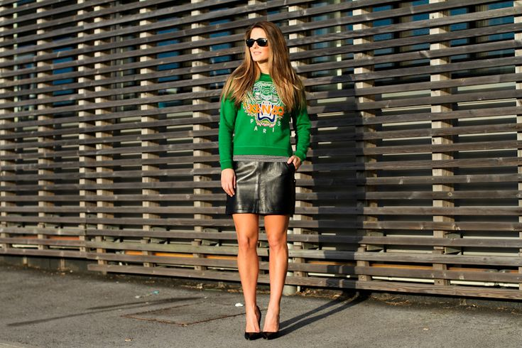 IMG_9631Clochet green kenzo tiger sweater // 1212