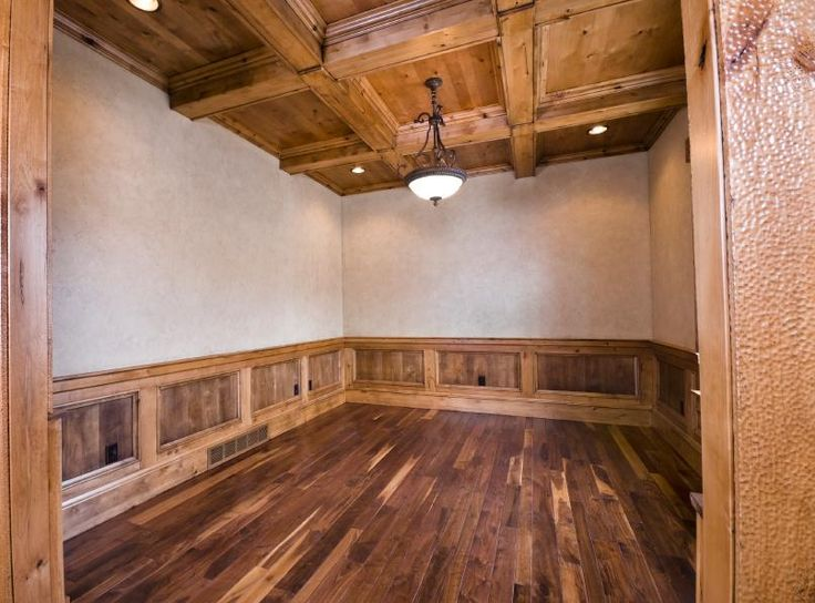 Dark Wood Wainscoting Dream Home Pinterest