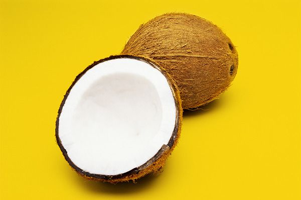 DIY hair treatment: 1 tsp. Coconut oil, 1 tsp. Honey 1 tsp.Pomegranate oil for fine or almond oil for wavy.