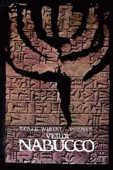 Ryszard Kaja Nabucco  Opera Poster, year: 1991