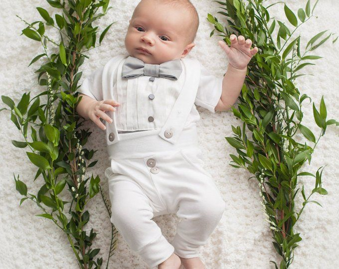 dffd1b43043bb Boys Christening Outfit 'Elijah'   Boys White Baptism Suit   White ...