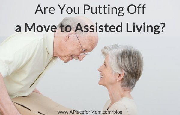 There are many reasons for delaying a move to assisted living. Here are the most common reasons and ways to overcome them.