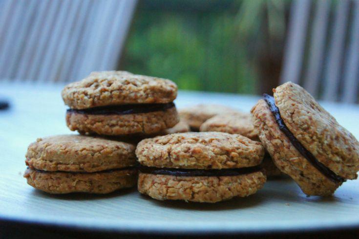 Glutenvrije en Suikervrije Oreo Koekjes maken