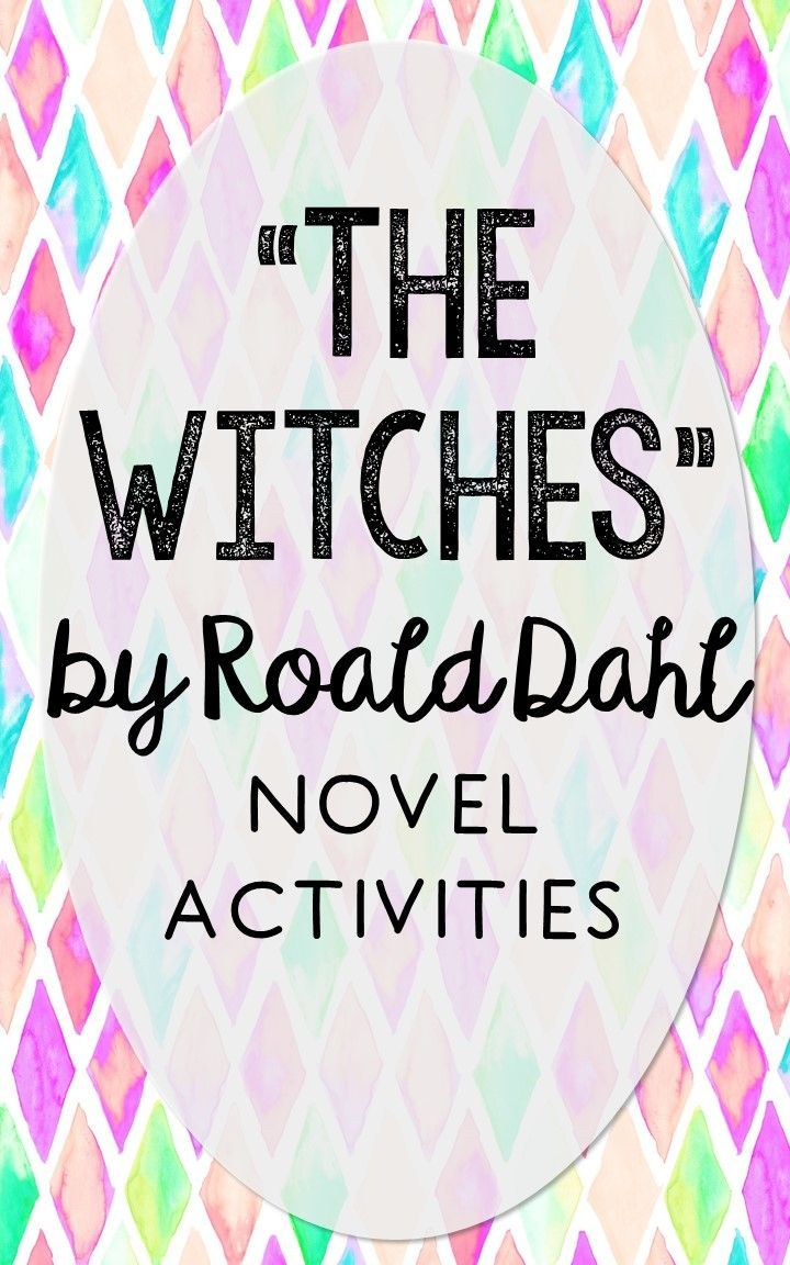 The Witches by Roald Dahl. This NO-PREP resource is perfect if you're looking for novel activities that are engaging and demonstrate comprehension WITHOUT multiple choice tests! This unit includes vocabulary terms, poetry, author biography research, themes, character traits, one-sentence chapter summaries, and note taking activities. You'll also find an author quote poster, a tri-fold bookmark, and character/vocabulary wall cards (plus EDITABLE cards!).