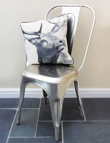 Industrial Café Chair | Seating Solutions | Vintage | thedenandnow.co.uk | Warehouse Home Design Magazine