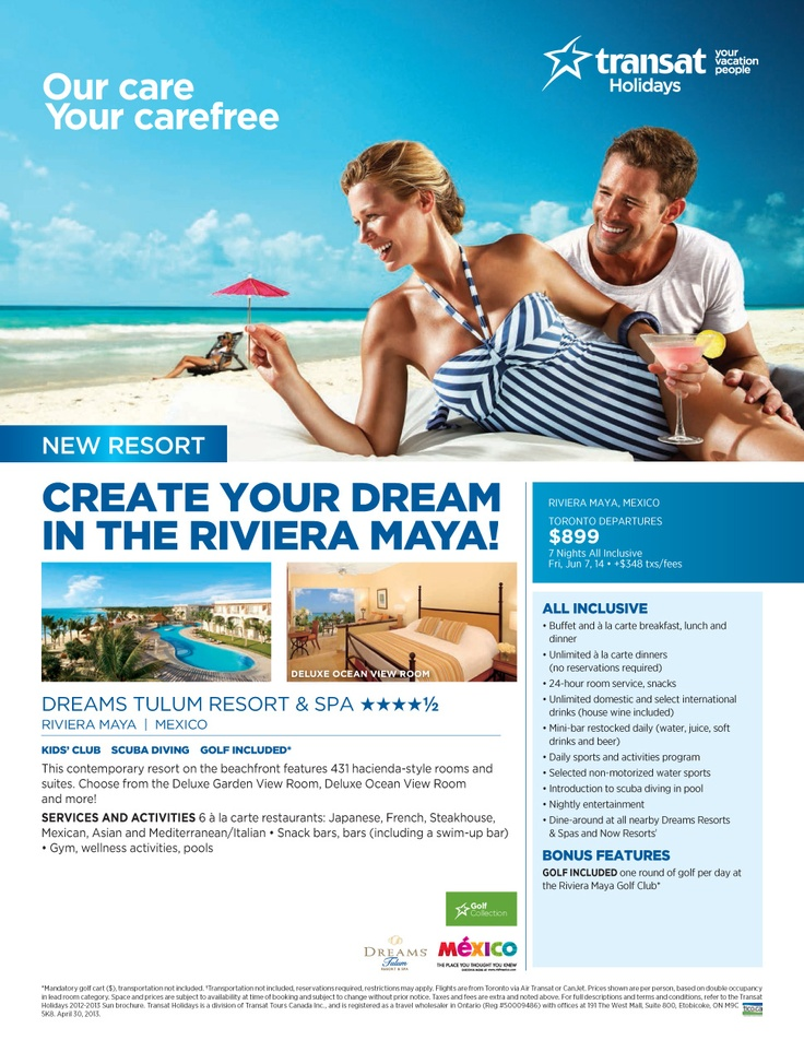 This contemporary resort on the beachfront features 431 hacienda-style rooms and suites. Choose from the deluxe garden view room, deluxe ocean view room and more! - Toronto Departures | Featured Special | Centre Holidays