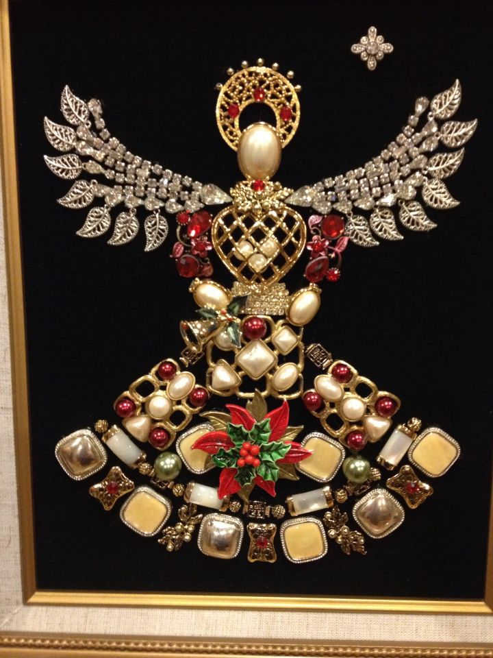 8x10 vintage jewelry Angel made by Beth Turchi 2015 | My ...