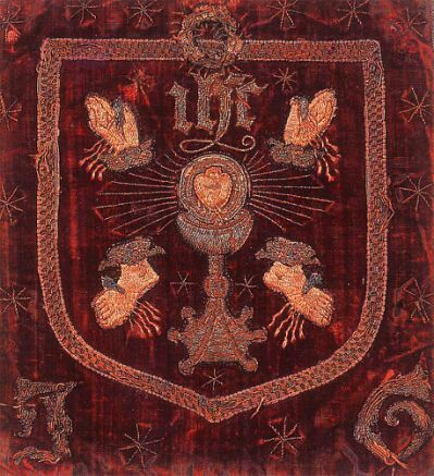 Wounds pilgrimage of grace banner 1536
