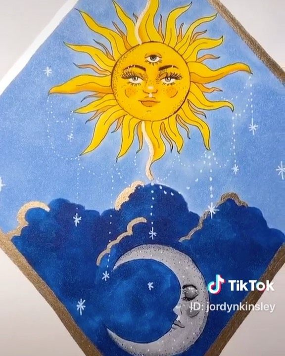 Not My Art On Instagram Drawing Sun With Moon Please Check Artist Instagram J Marker Art Mandala Art Lesson Art Journal Inspiration