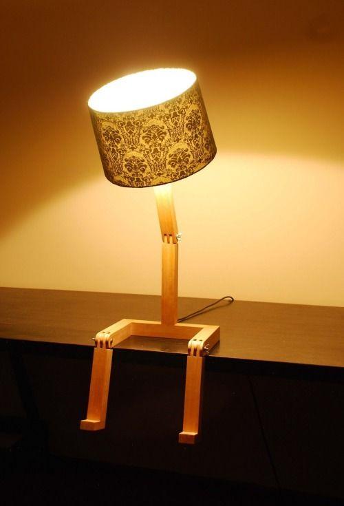Sitting Lamp by Graeme Bettles