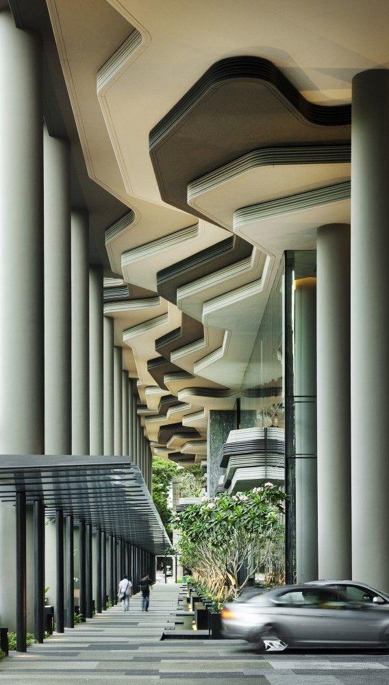 PARKROYAL on Pickering | Architects: WOHA | Location: Singapore, Singapore | Photographs: Patrick Bingham-Hall