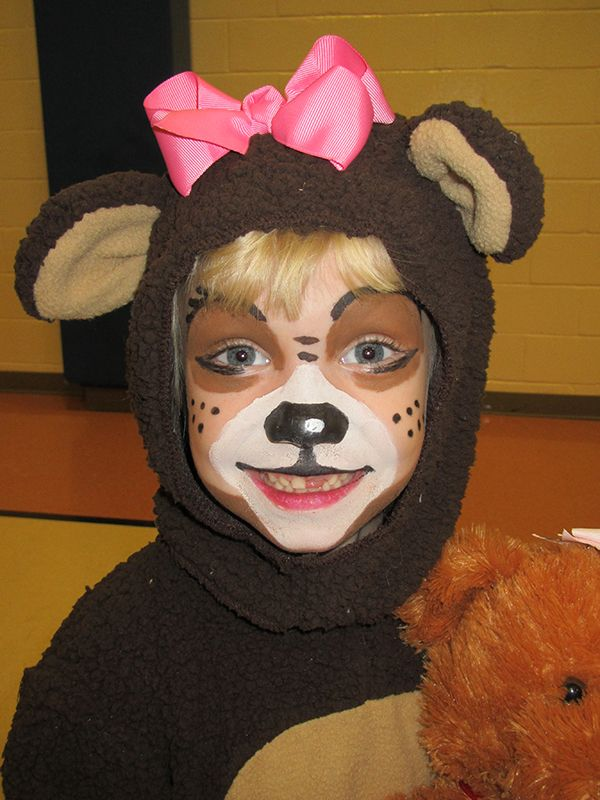 Bear Face Paint Designs | Bear Face Painting Designs | Face Paint Shop Online
