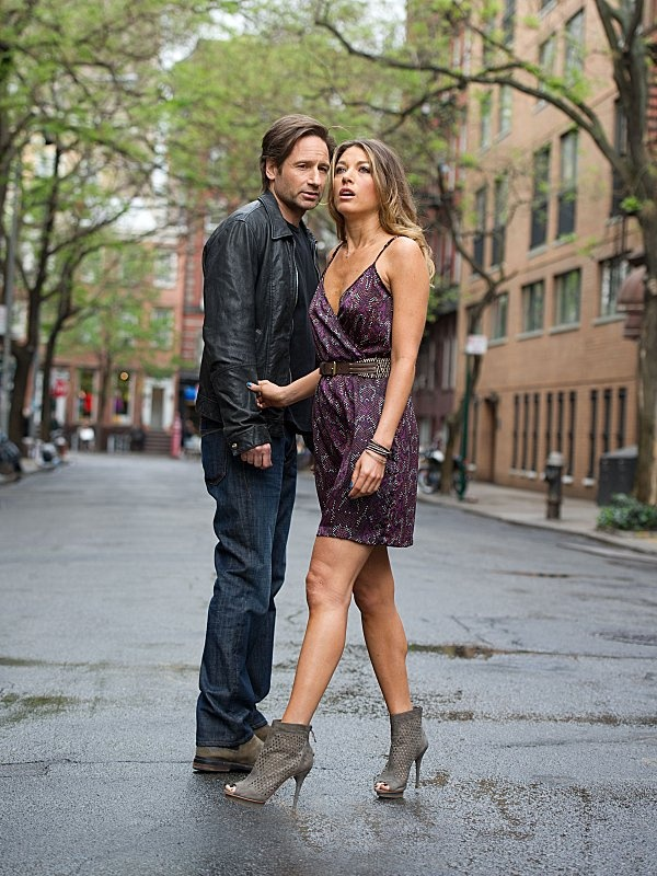 David Duchovny and Natalie Zea in Californication