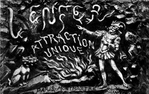 l'enfer attraction unique