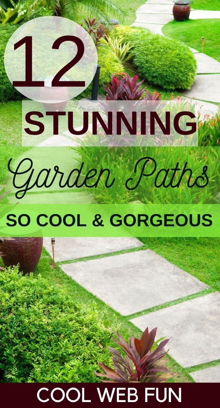 12 Stunning Garden Paths And Walkways Ideas Garden Paths Garden Walkway Beautiful Gardens Landscape