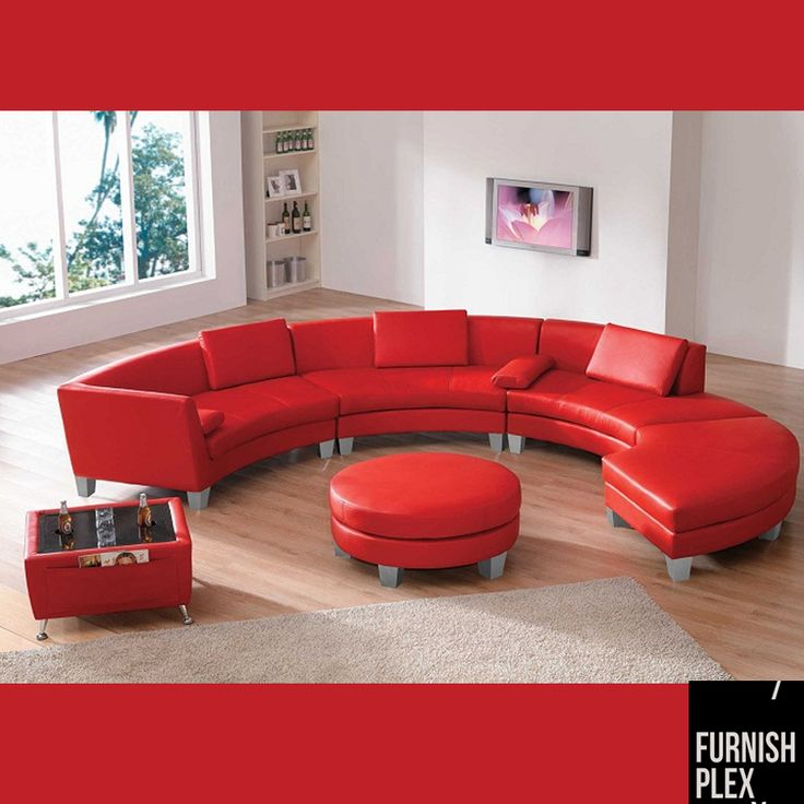 Good to look and comfort to sit... Red hot #sofa set...