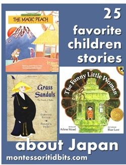 Learn about culture through literature: 25 favorite children's books about JAPAN