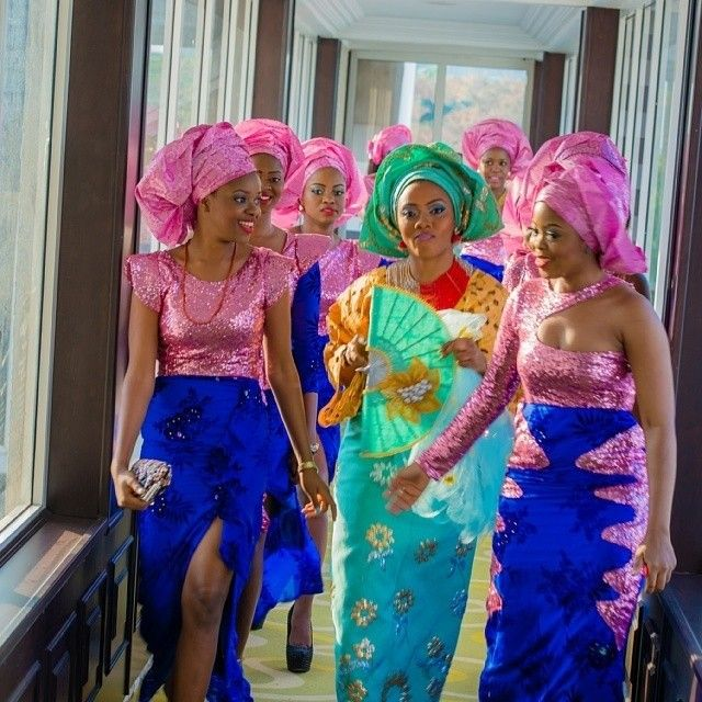 112 best Wedding Colors images on Pinterest | African fashion style ...
