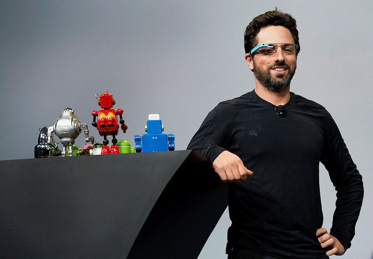 Fundador de Google, Sergey Brin - bloomberg
