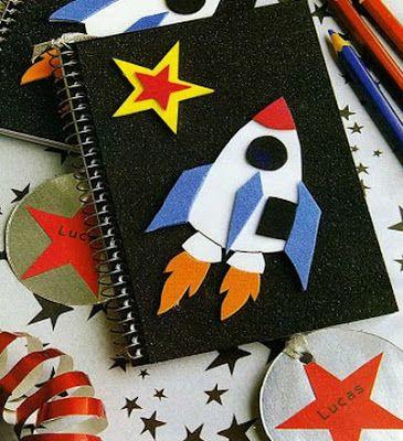 Como decorar cuadernos para niños